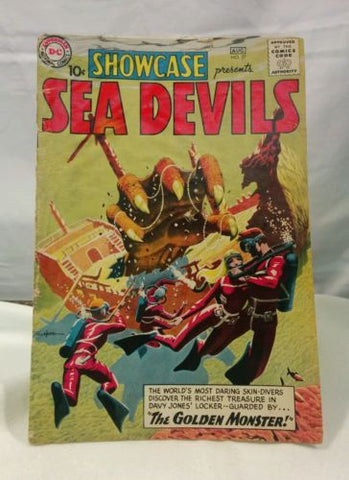 DC Comics Showcase Presents Sea Devils #27 (DC, 1960) VGC Comic Book First Appearance! - Odd MoFo