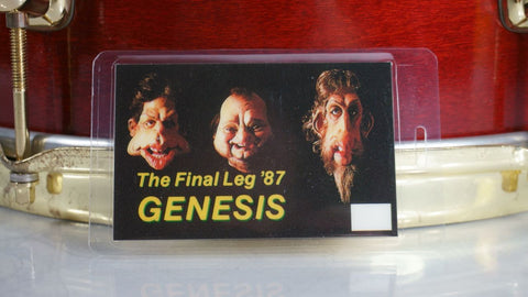 Genesis Backstage Laminate The Final Leg '87 - Odd MoFo