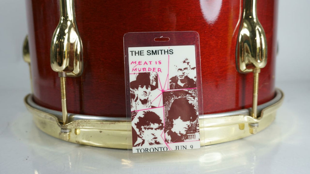 "The Smiths ""Meat is Murder"" Toronto June 9 Backstage Pass Laminate"