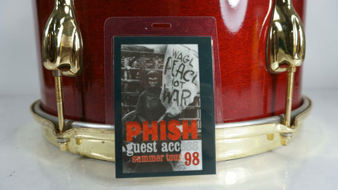Phish 1998 Summer Tour Guest Access Laminate Planet of the Apes