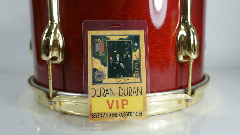 "Duran Duran ""Seven and the Ragged Tiger"" VIP Pass Laminate - Odd MoFo"