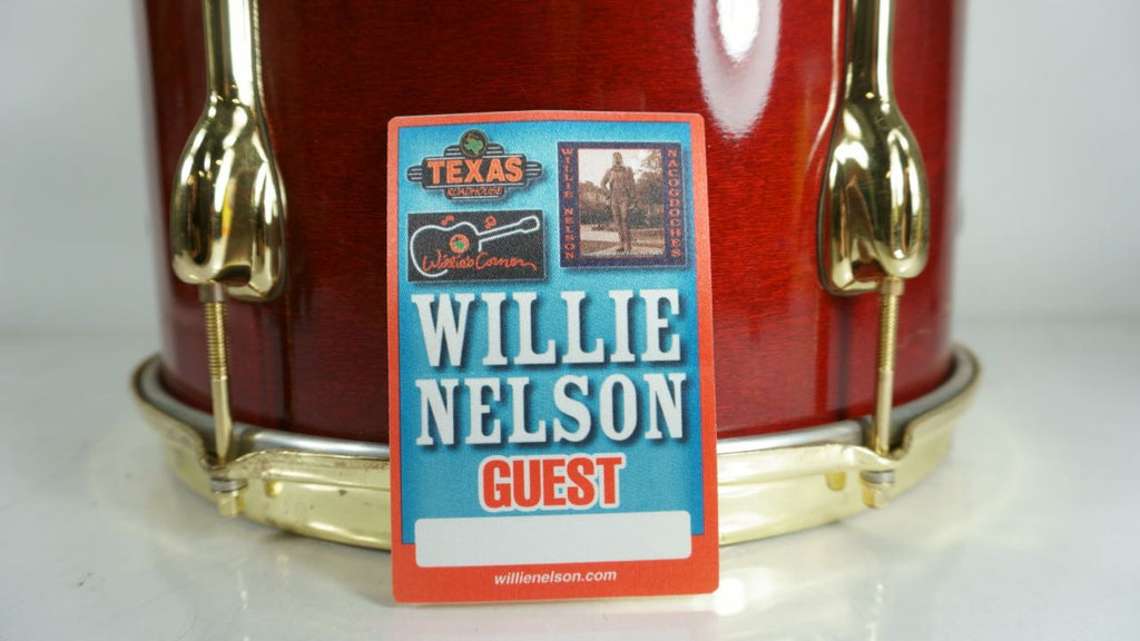 Willie Nelson Guest Pass Nacogdoches Texas Roadhouse Willie's Corner 2004