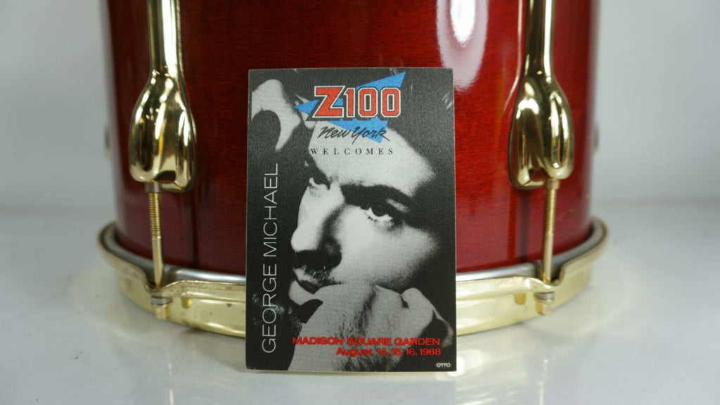 George Michael 1988 Madison Square Garden Backstage Pass Z100 - Odd MoFo
