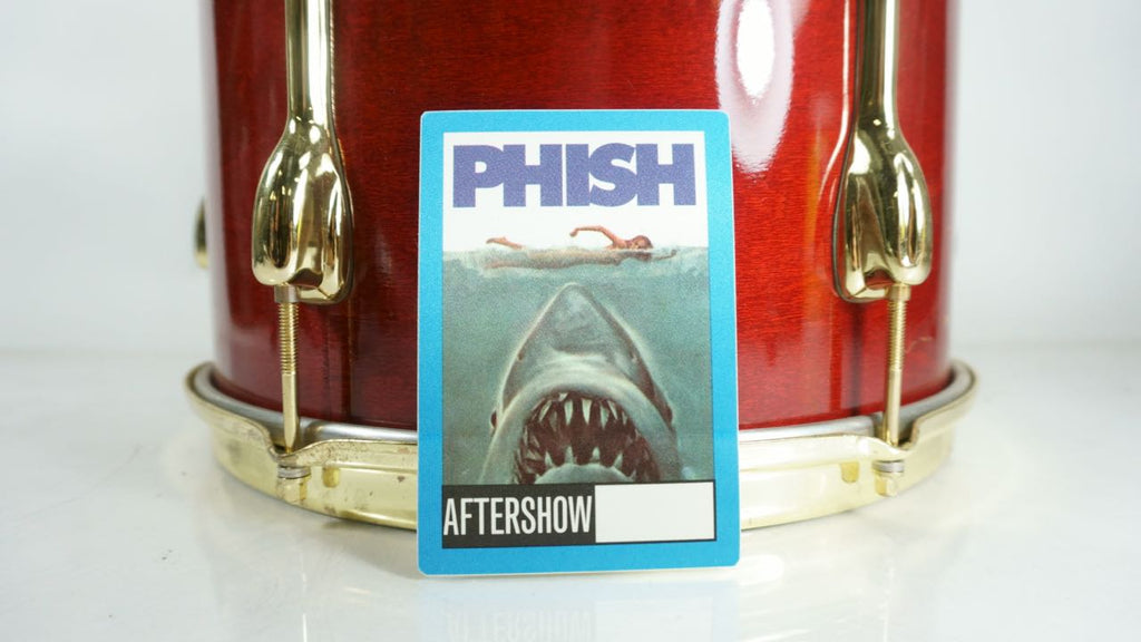 Phish 1990's Aftershow Pass Jaws