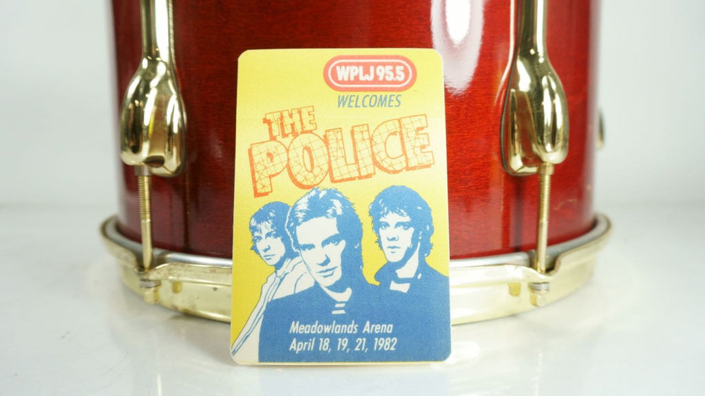 The Police 1982 Meadowlands Arena Backstage Pass April 18, 19, 21 Memorabilia