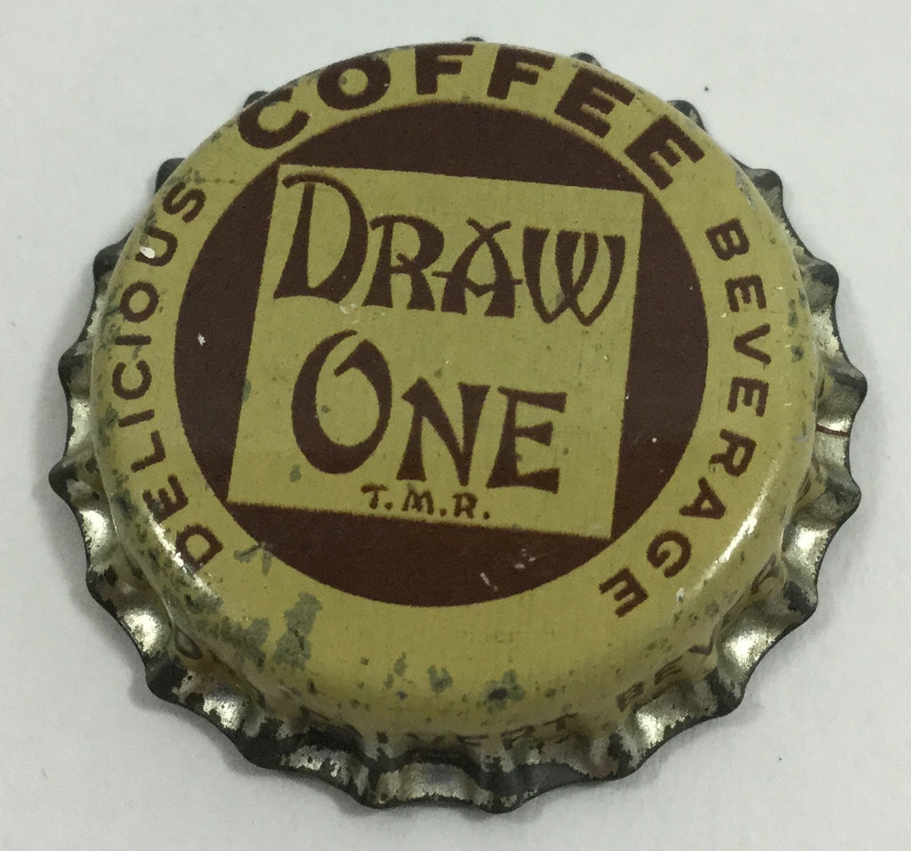 Vintage Draw One Lord Calvert Coffee Beverage Bottle Cap Magnet