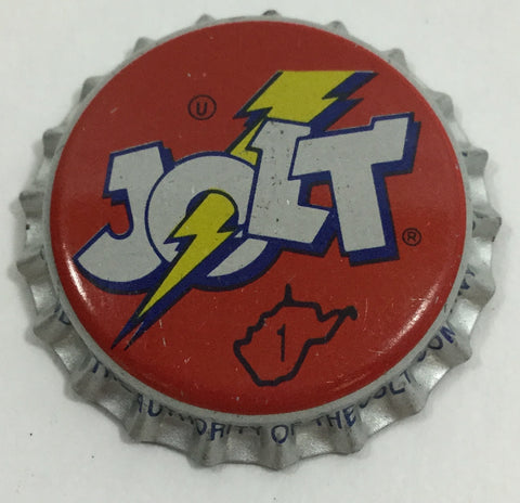 Vintage Jolt Cola Bottle Cap Magnet