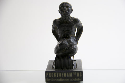 Hemorrhoidal Pain Bed Of Nails Statue by Proctofoam - Odd MoFo