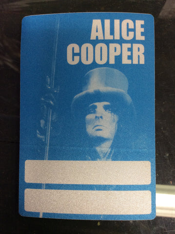 Alice Cooper 1997 Rock n' Roll Carnival Tour backstage pass - Odd MoFo