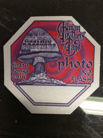 Allman Brothers 2013 tour cloth backstage pass - 3 colors - Odd MoFo