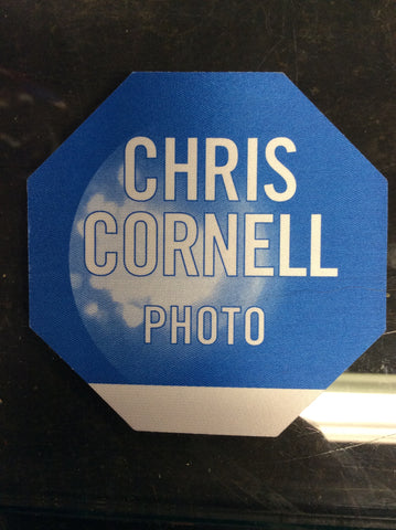 Chris Cornell cloth PHOTO backstage pass octagon 2000 solo tour - Odd MoFo