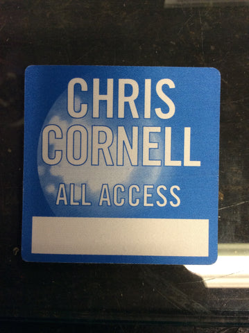 Chris Cornell cloth ALL ACCESS backstage pass - Odd MoFo