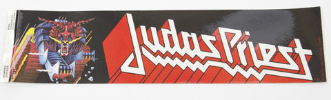 Authentic 1984 Judas Priest Defenders of the Faith Bumper Sticker - Odd MoFo