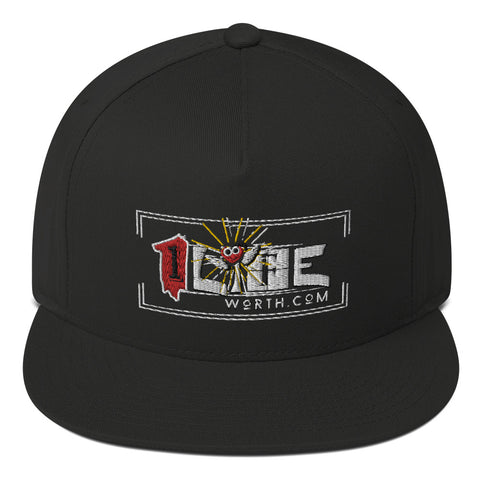 One life worth living Flat Bill Cap