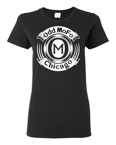 Women's Odd Mofo Chicago short sleeve t-shirt