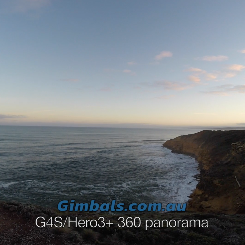 360 Panoramas with the Feiyu G4S