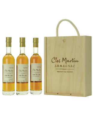 Clos Martin Wooden Box Set