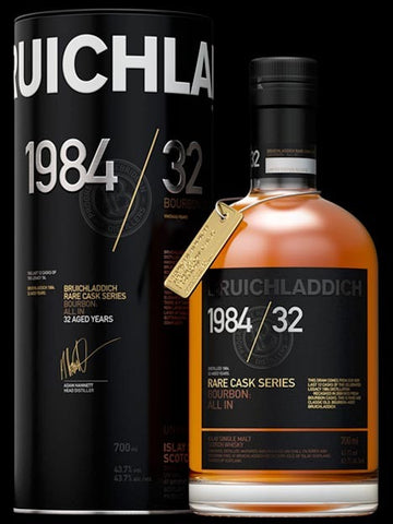 Bruichladdich 1984 / 32 Bourbon: All In
