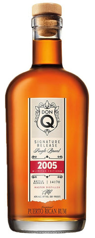 Don Q Signature Release Single Barrel, 2005