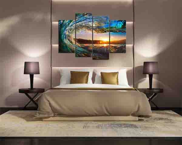 Wall Canvas - Ocean Wave