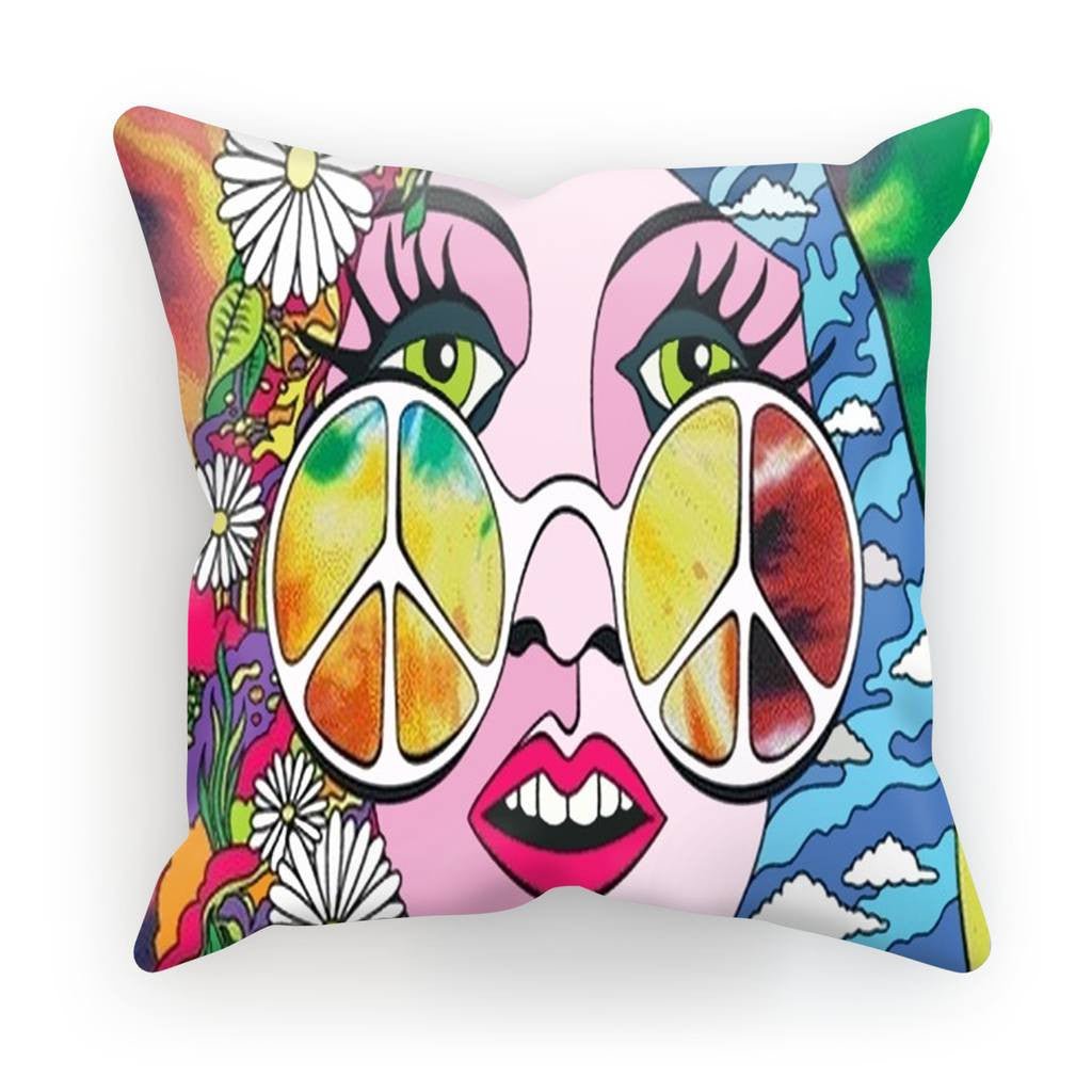 Homeware - Cushion - Psychedelic Girl