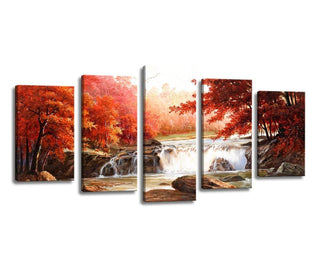 Wall Canvas - China Waterfall