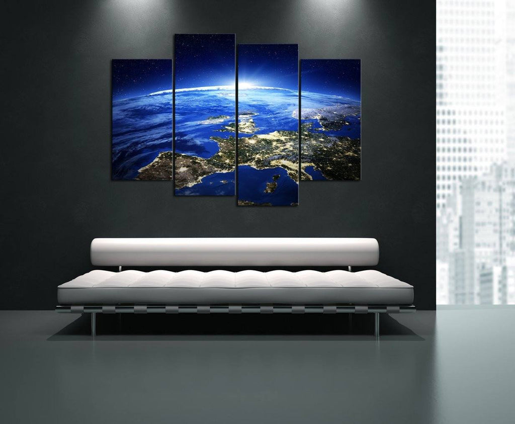 Wall Canvas - Earth From Space