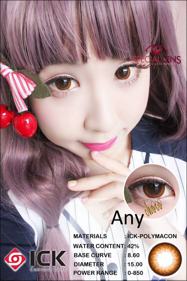 ICK Any Choco Contact Lenses