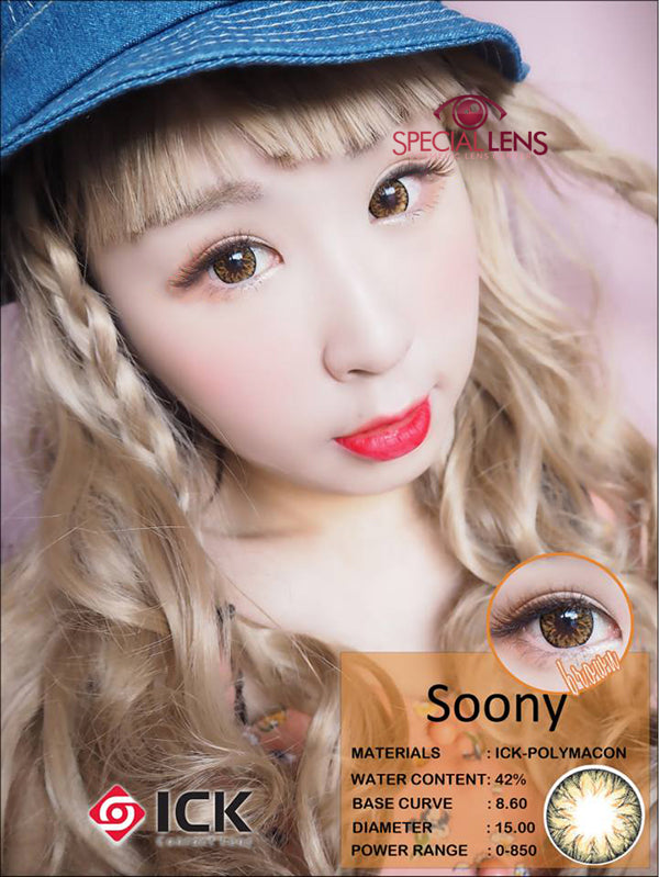 ICK Soony Brown Contact Lenses
