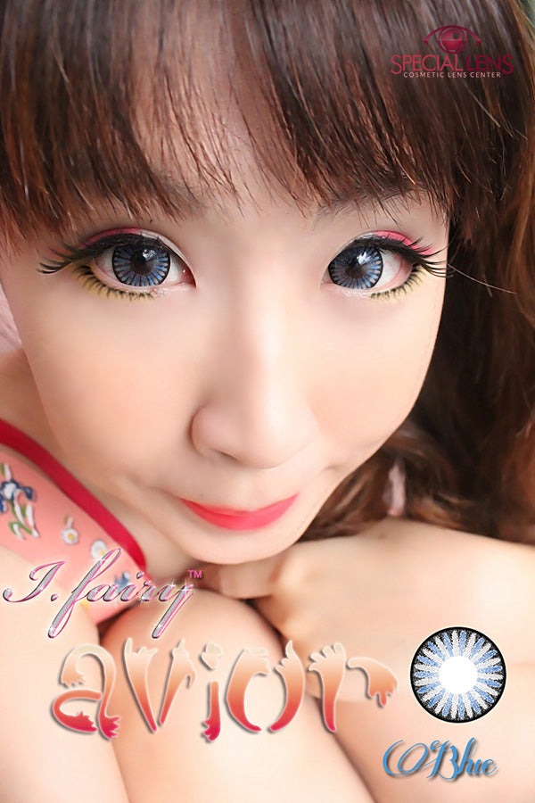 iFairy Avior Blue Contact Lenses
