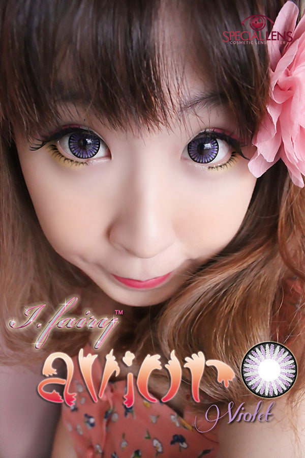 iFairy Avior Violet Contact Lenses