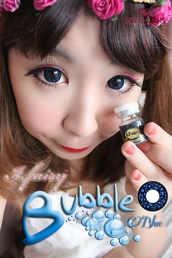 iFairy Bubble Blue Contact Lenses