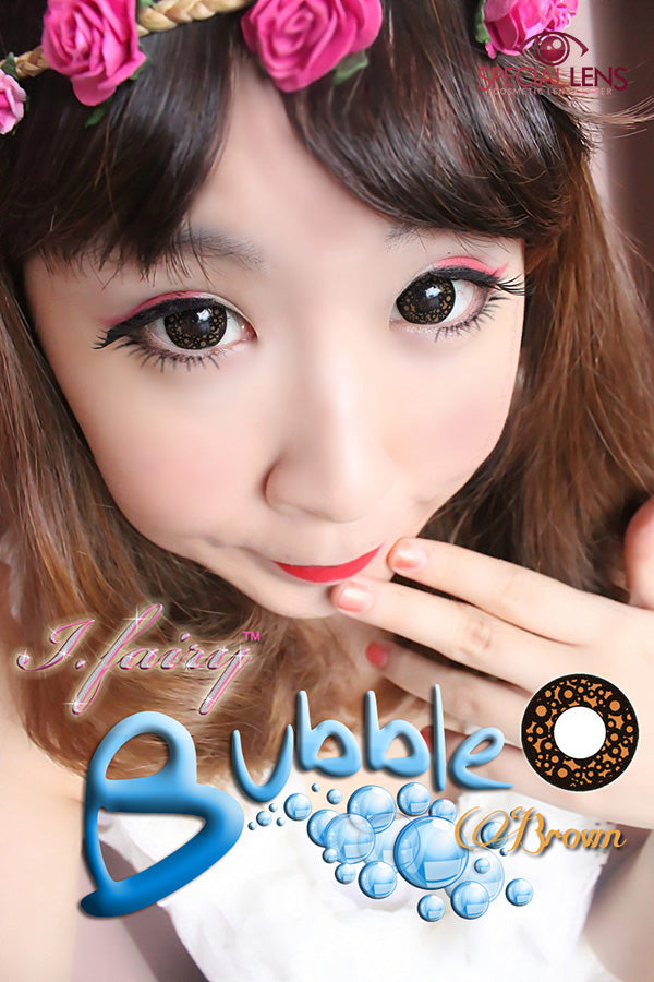 iFairy Bubble Brown Contact Lenses