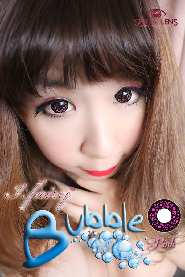 iFairy Bubble Pink Contact Lenses