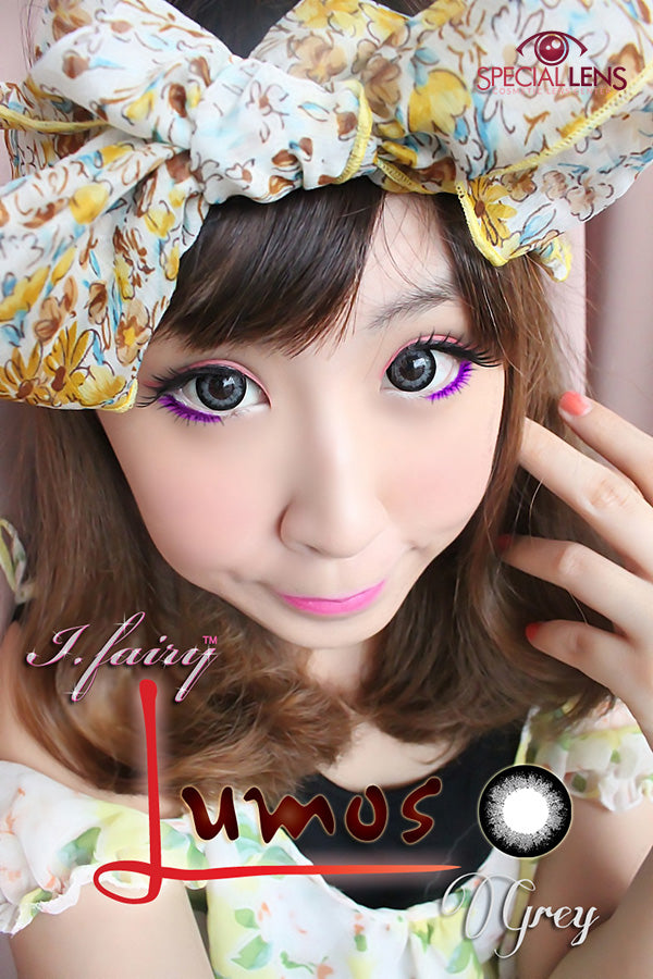 iFairy Lumos Grey Contact Lenses
