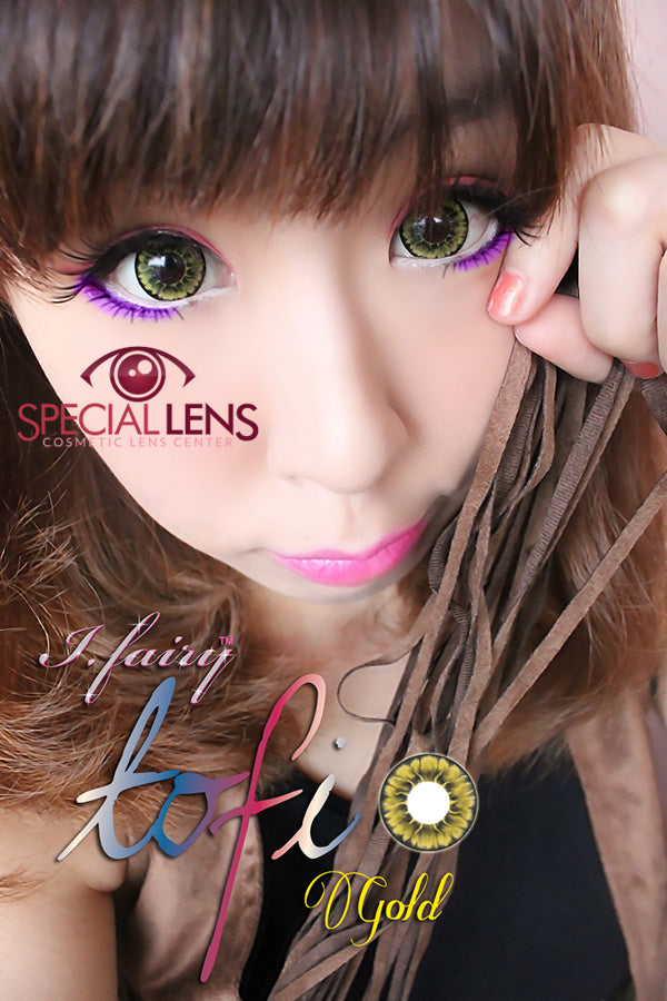 iFairy Tofi Gold Contact Lenses