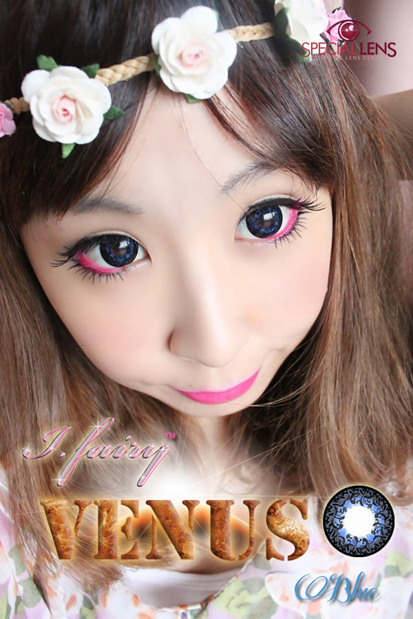 iFairy Venus Blue Contact Lenses