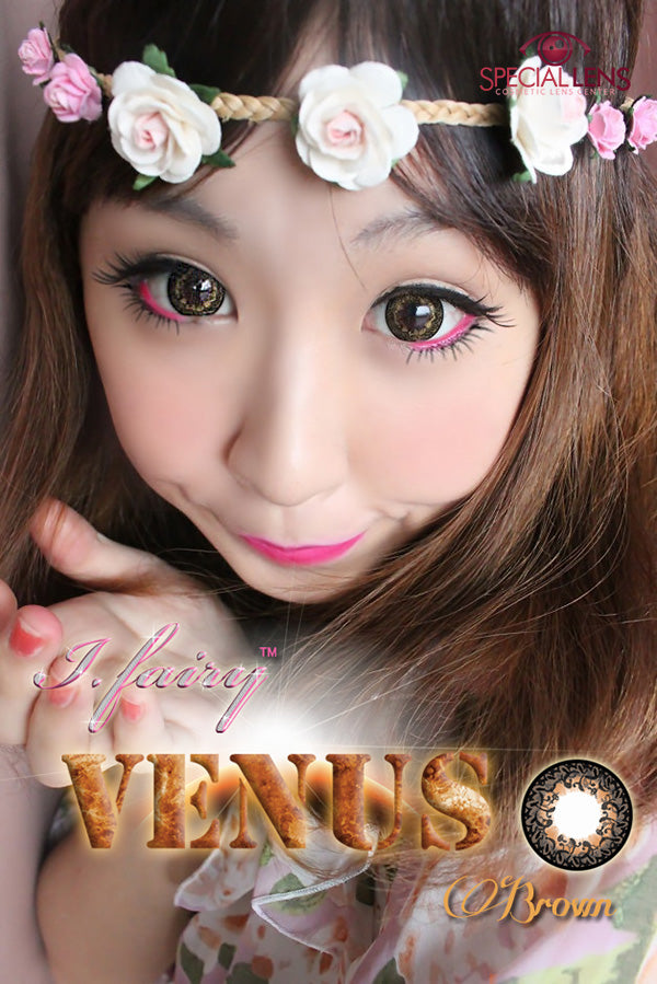 iFairy Venus Brown Contact Lenses