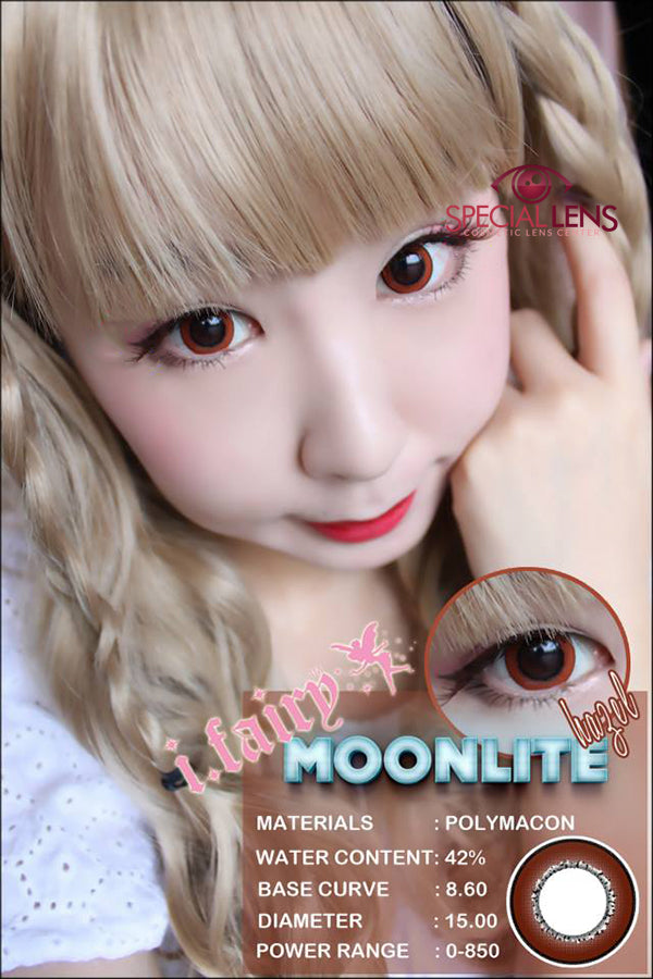 iFairy Moonlite Hazel Contact Lenses