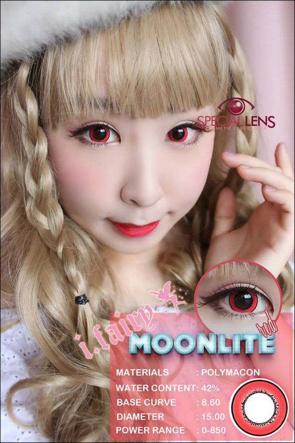 iFairy Moonlite Red Contact Lenses