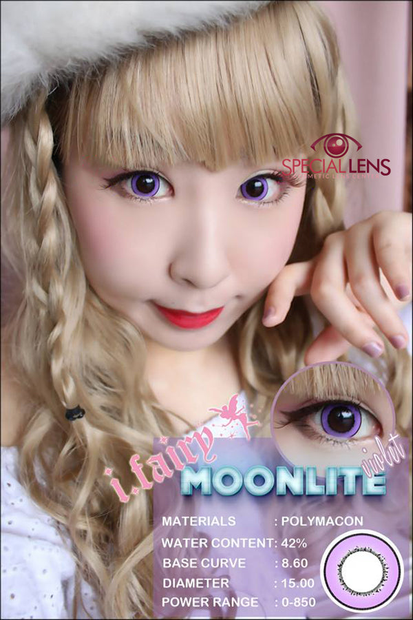 iFairy Moonlite Violet Contact Lenses