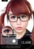 Classic Big SeaShell Grey Contact Lenses