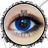 Classic Glamourous Blue Contact Lenses