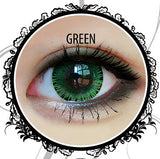 Classic Glamourous Green Contact Lenses