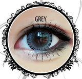 Classic Glamourous Grey Contact Lenses