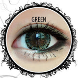 Classic Glamourous 4T Green Contact Lenses