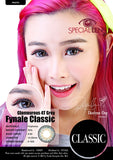 Classic Glamourous 4T Grey Contact Lenses