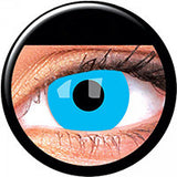 Halloween Pure Blue Contact Lenses