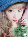 ICK Cherie3 Green Contact Lenses