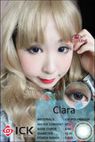 ICK Clara Blue Contact Lenses